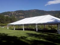 Frame Tents with no center poles
