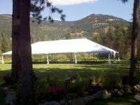 Rent this large tent and have room for all of your guests!