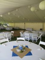 Tent with Liner, Garden Chairs, Tables and ore